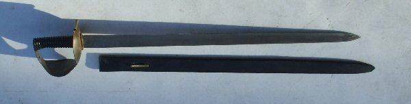 British Figure 8 Naval Cutlass