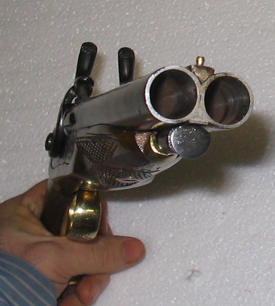 MVTCo Double Barrel Caplock Pistol