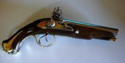 Double Barrel Flintlock